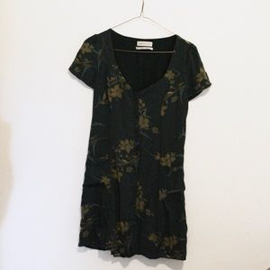 UO Floral Button Up Dress